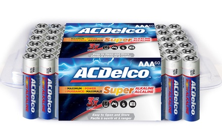 ACDelco Re-Closeable Pack AA 60-Pack
