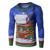 Men's Christmas Is Coming Ugly Christmas Sweater Long Sleeve T-Shirt