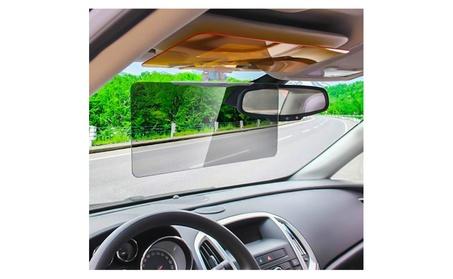 Zone Tech Day & Night Vehicle Clip on Adjustable Anti Glare Sun Visor d2ec5fec-8bc3-4be9-9da9-71b9f071c03c