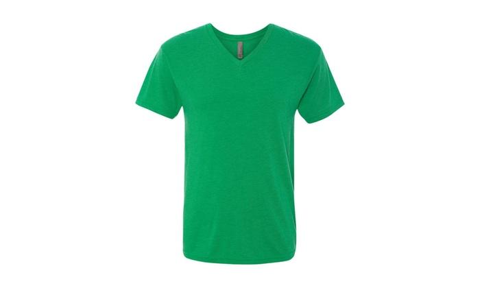 NLA Tri-blend V-Neck Short Sleeve T-Shirt, 6040