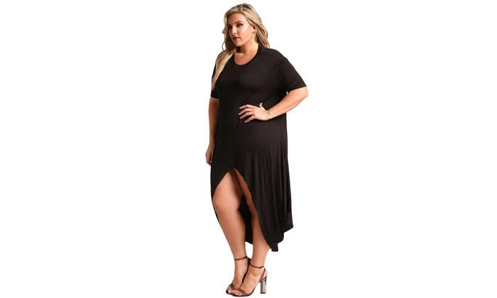 Up To 67% Off on Women\'s Black/Burgundy Plus S... | Groupon Goods