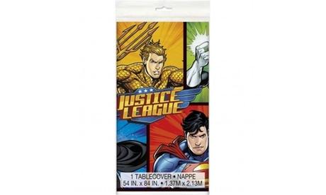 Kimmy Shop 30350740 Justice League Plastic Table Cover