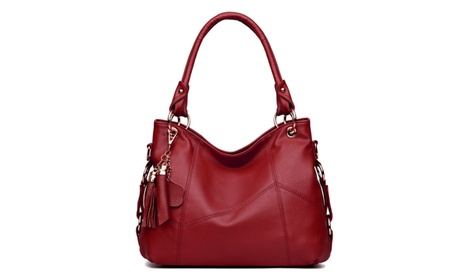 New Arrival Leather Satchel Purses and Handbags Shoulder Bag (Goods Women's Fashion Accessories) photo