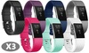 Bands for Fitbit Charge 2,New Design&Special Edition Sport Wristbands - 3 Pack