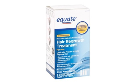 Equate - Hair Regrowth Treatment for Men with Minoxidil 5% Extra c832bfbf-758e-48a1-9beb-5cdb3a972e8a