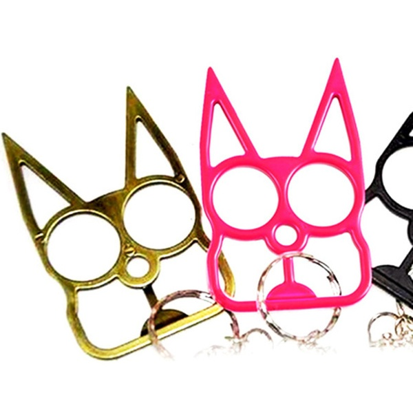 Stay Safe With Kitty Self Defense Keychain Groupon