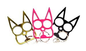 Stay Safe With Kitty Self-Defense Keychain