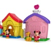 Fisher-Price Little People Magic of Disney Mickey and Minnie's House
