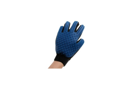 Glove for Dog Grooming Two-Piece True Touch Deshedding de64dc8a-6b49-4ccf-85c6-da511e16c389