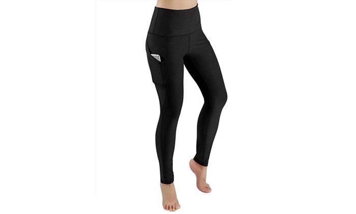 Women High Waist Gym Leggings Fitness Sports Running Training Yoga Pants Pockets