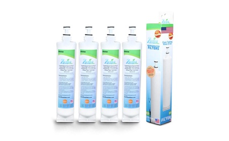 (4 Pack) Kitchenaid 8212491 Compatible Refrigerator Water & Ice Filter photo