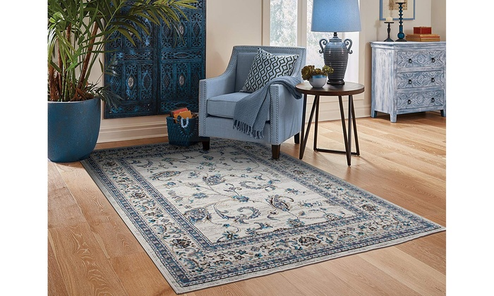 Large Area Rugs Traditional Blue Dining Room Rug 8x10 Black Runner Rugs