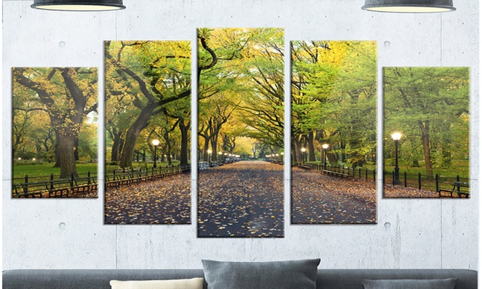 Up To 17 Off On The Mall Area In Central Park Groupon Goods