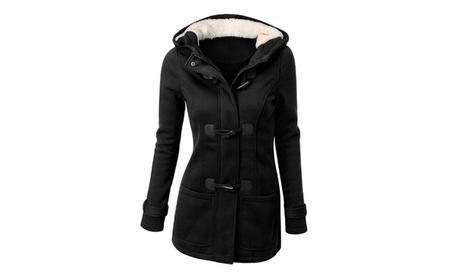 Womens Winter Warm Wool Blended Classic Coat Jacket 944eb7de-4dfd-4ffb-af7e-d8415497394f