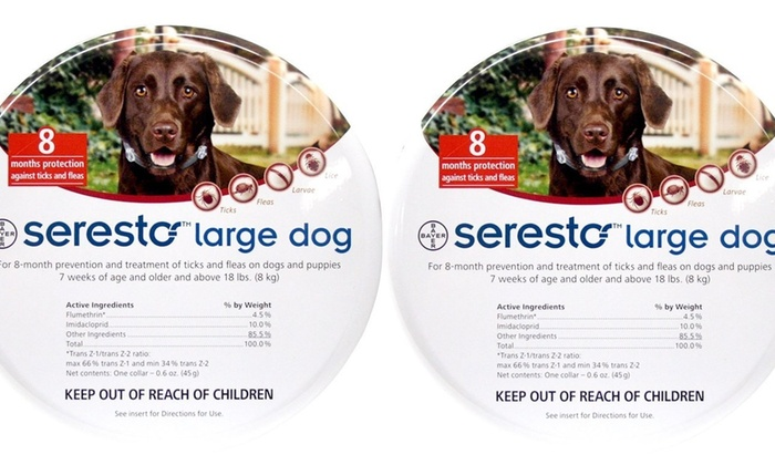 Up To 27 Off On Bayer Seresto Flea And Tick C Groupon Goods