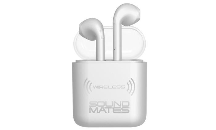 Bluetooth WIreless Sound Mates Earbuds High def sound by