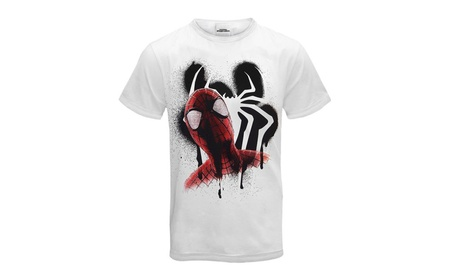 Spiderman Official Gift Mens T-Shirt 75bb46c0-1e76-4eed-84d3-6d3a0f6eae19