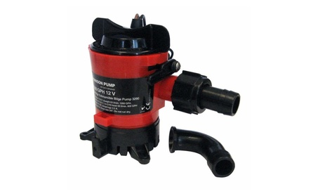 Johnson Pump 1000 Gph Bilge Pump 3 / 4 Inch 12V Dura Ports photo