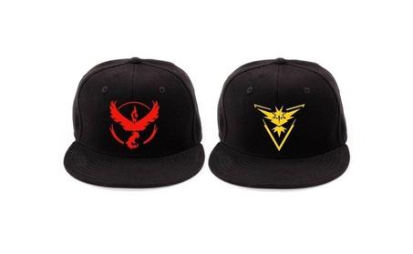 Pokemon Go Snapback Baseball Hat Team Mystic Instinct Valor bc863e89-026b-4904-be04-0f468d4b3e0c