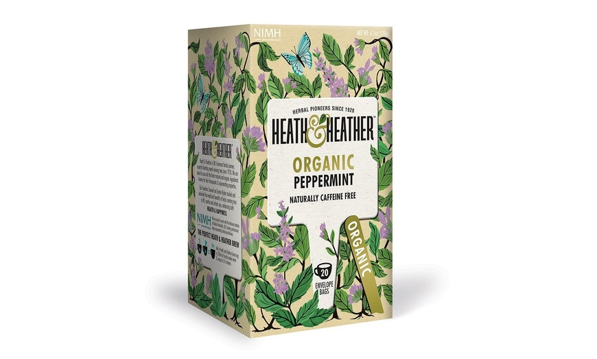 Heath Heather Tea Organic Peppermint Tea 20 Ct Groupon