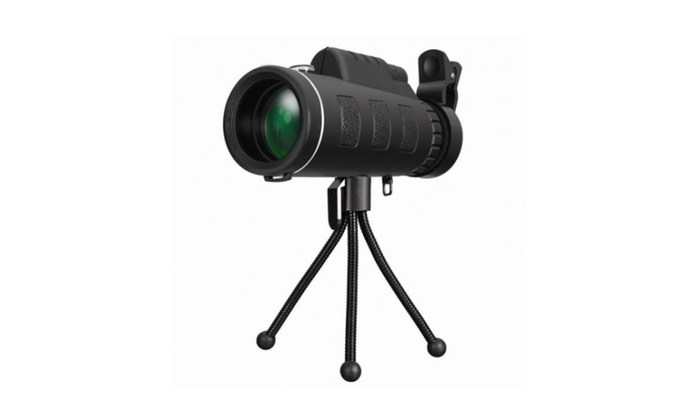 Hd spotting scopes dual focus monocular portable optical