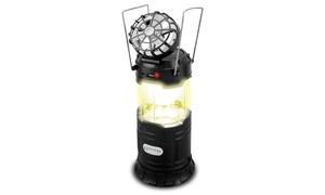 TPro Solar Powered 5 in 1 Lantern, Flashlight, Powerbank & Fan
