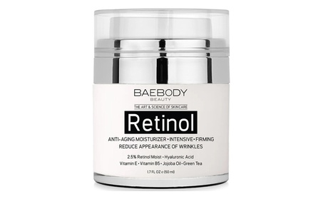 Retinol Moisturizer Cream for Face and Eye Area. - With Retinol