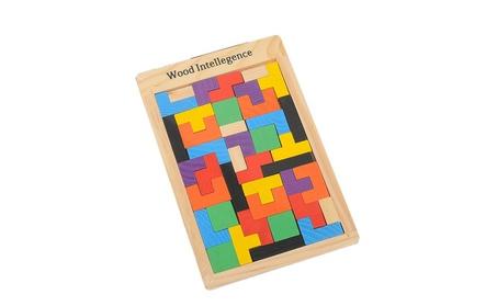 Colorful Wooden Tetris Building Blocks Toy Kid Early Educational Toy fffac671-b82e-4ffc-b270-4e97df11c965
