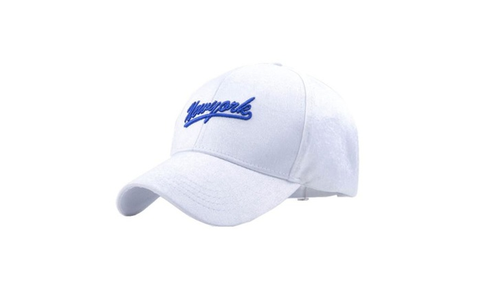 Women's Solid Simple Fashion Athletic Snapback Adjustable Cap