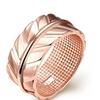 Sweet Leaf Wedding Ring for Women