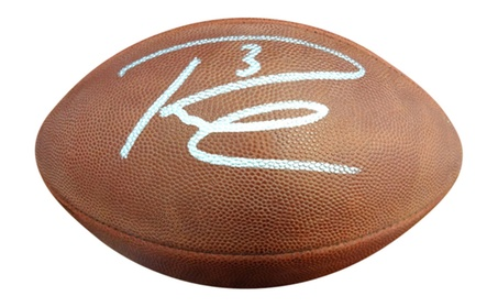 Autographed Russell Wilson Seattle Seahawks Leather Football dbeb4f5f-8b9b-4d24-969d-4e5a56f13df0