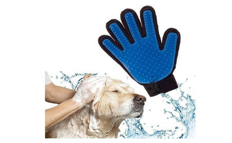 Pet Dog Cat Grooming True Glove Touch Hair Removal Brush 401af2f6-dfaa-4e15-b00a-43cb0de293e4