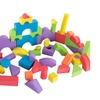 50-Piece Non-toxic EVA Foam Building Blocks by Hey! Play!