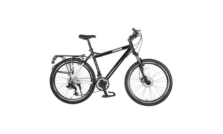 "Force Perimeter Hardtail Mountain Bike, 26"" wheels, 18"" frame, Black 30580ef4-a814-4d16-b4c2-4eaa2433eabb"