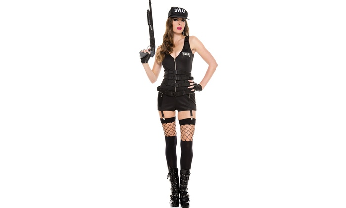 44e93acbaf997 Music Legs - S.W.A.T Costumes   Groupon