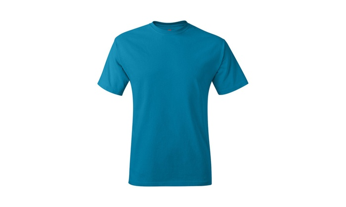 Hanes Cotton Crewneck Tagless T-Shirt, 5250-8