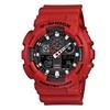 Casio G-Shock Red Resin Unisex Watch GA100B-4A