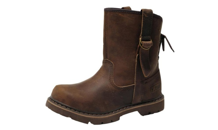 Men's Vintage Solid Marten Fashion Boots