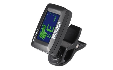Electric Tuner Clip-on Three Colors Backlit Screen for Guitar 8a2dbb56-f65f-456a-8345-0b253f223c7c