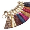 Premium Authentic Real Lambskin Tassel Key Chains