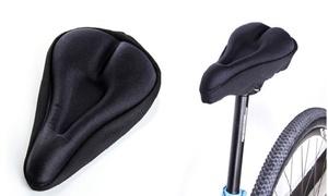 Gel-Padded Bike Seat Cover