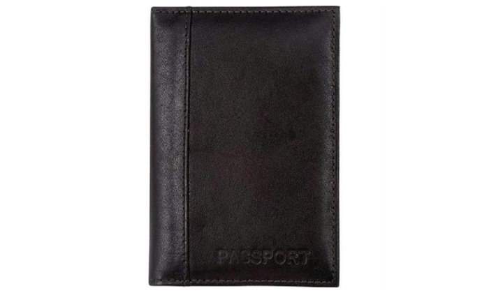 Embassy Leather Passport Cover/Wallet