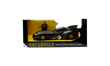 "1989 Batmobile w/ Michael Keaton Batman 3"" Bendable 93b2d605-dccf-4c84-84f9-dd8eecd6dfaa"