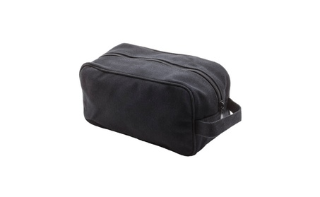 Canvas Shower Kit Travel Toiletry Bag Case, with FREE Punisher Tool