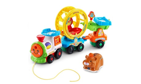 VTech Go! Go! Smart Animals Roll & Spin Pet Train ea341674-2c09-4734-bcce-19a4541befa5