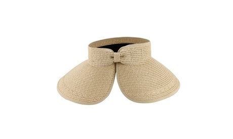AccessHeadwear Summer Sun Styles Paulina Ladies Visor Sun Hat for Beach db1ab0e2-6ad3-49f2-a337-ab3753dd069d