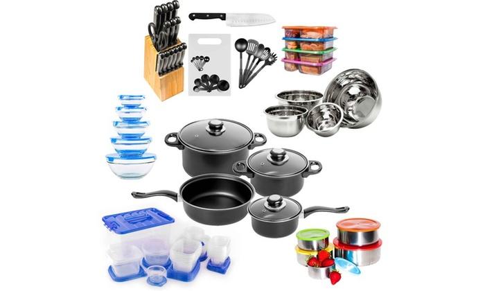 Up to 44 off on kitchen starter set 130 pieces for Kuchen starterset