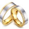 Anillos Gold Rings for Women/Men