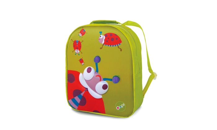 d00e53e4dfa5 3D Ladybug Easy Backpack - Green