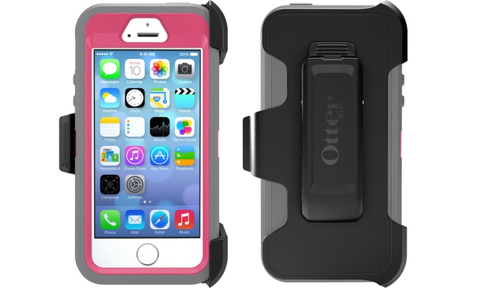 Compatibile con Apple iPhone Survivor Defender Case Cover Protector forte con clip